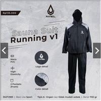 Baju Sauna Suit Rainsol Running - XXL