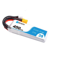 BetaFPV 450mAh 3S 75C XT30 Connector Lipo Battery (1PCS)