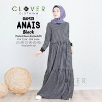 Clover Clothing Gamis Anais - Black, S