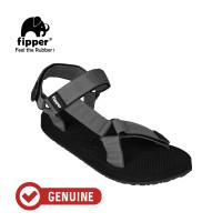 Fipper Trekker / Sandal Pria / Black Grey