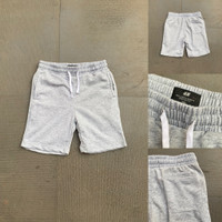 Celana Pendek H&M Basic Sweatshorts Grey Misty Original HnM