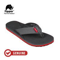 Fipper Refitt / Sandal Pria / Grey Red