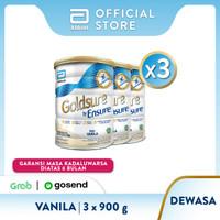 Goldsure Vanila 900 g Susu Nutrisi Dewasa - 3 klg
