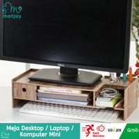 Meja Desktop Laptop / Desktop Storage / Meja Komputer Mini