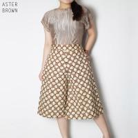 Aster Cullote - Celana Batik Wanita Kulot Wanita