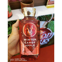 BBW Bath and Body Works Winter Candy Apple Shower Gel