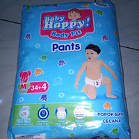 POPOK BAYI / PAMPERS BABY HAPPY PANTS M34