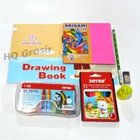 Paket Menggambar / Paket Sekolah Anak TK