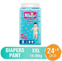 POPOK BAYI / PAMPERS BABY HAPPY PANTS XXL24