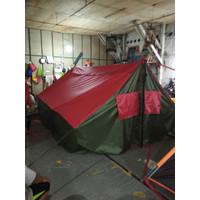 Tenda pramuka perasit 3X4 kapasitas 12