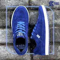 Sepatu Sneakers Pria Biru / sepatu sport - KZS 483