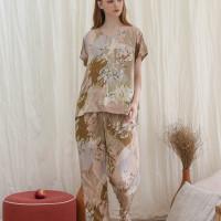 Arabella set in Pastel - Sleepwear / Piyama Baju Tidur Rayon by RAHA