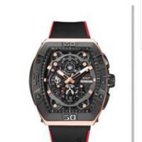 READY Jam tangan pria Expedition E 6800 E6800 black rosegold