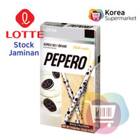 Lotte White Cookie Pepero 32g/Biskuit Coklat OriginalCookies AsliKorea