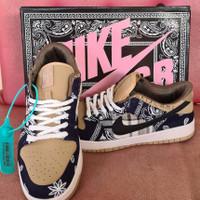 Sepatu Nike SB Dunk Low x travis scott cactis jack