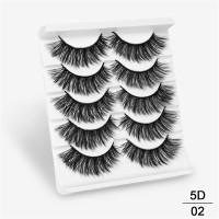 5 Pasang Bulu Mata Palsu False Eyelashes Mink 3D Natural Tebal Panjang