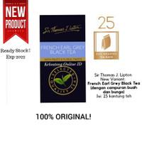 Lipton Teh Hitam Celup French Earl Grey - Isi 25 Sachet