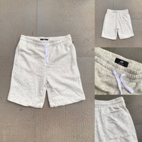 Celana Pendek H&M Basic Sweatshorts Light Grey Original HnM