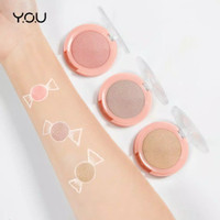 The Simplicity Gleam Highlighter by YOU makeups - 03SunkissedGlow