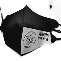 Masker Scuba Adjustable Yamaha XSR 155