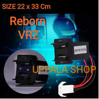 Charger USB Mobil Toyota 22 X 33 Cm / Car Charger USB 2 Port + LED