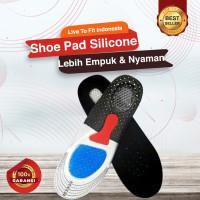 Alas Kaki Shoe Pad Silicone Sepatu Insole Sneaker Absorp Gel