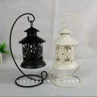 Lentera Dekorasi model Gantung Tealight holder