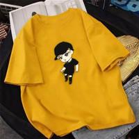 Kaos Atasan Wanita JIN BTS Bahan Lembut Baju Kaos Atasan Wanita Korea - S