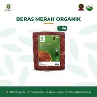 beras merah organik 1 kg