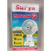 SURYA MOSCOW Lampu Emergency Lamp + KIPAS Emergency JUMBO 7 inch