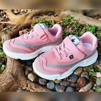 Sepatu Anak Import A821-1 Pink