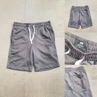 Celana Pendek H&M Basic Sweatshorts Dark Grey Original HnM
