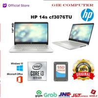 Laptop hp 14s -CF3076TU core i3 New Gen 10 + SSD256 Paling laris..