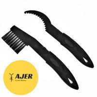 Sikat Rantai & pembersih Sprocket gear Sepeda tool alat chain cleaner
