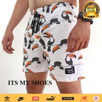 Celana Boxer Pria-Daleman Pria-Celana Santai-Motif Burung