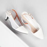 Guzzini MN 5002 - Putih Sepatu Heels Tali Wanita Fashion