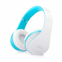 Kanen 2 in 1 Wireless Bluetooth Foldable Headset Stereo Bass - NX-8252