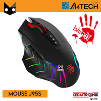 Mouse Gaming A4tech J95S RGB 5000 CPI Ultimate Bloody 2 Fire Animation
