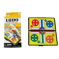 Mainan Keluarga Family Board Game Ludo Magnet Mini