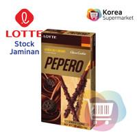 Lotte Choco Cookie Pepero 32g/Biskuit Rasa Coklat Cookies Asli Korea