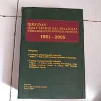 Himpunan surat edaran & peraturan mahkamah agung RI 1951 - 2005...