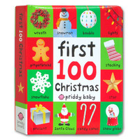 First 100 Christmas Board Book