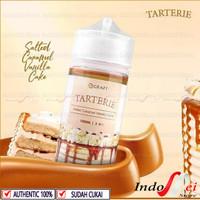 TARTERIE Salted Caramel Vanilla Cake 100ML - 3MG by Rcraft Indo