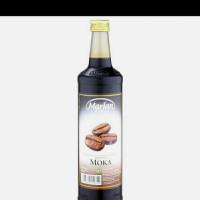 Marjan 460ml/ syrup Marjan/ sirop Marjan Moka plus bubble wrap