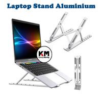 Laptop Stand Holder Portable Dudukan Tablet Aluminium Multifungsi