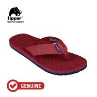 Fipper Refitt / Sandal Pria / Maroon Navy