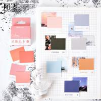Pantone Colour Chart Flake Stickers Set / Sticker Unik / Sticker Lucu
