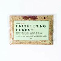 Brightening Herbs Peeling Scrub Pemutih Ketiak, Siku, Lutut