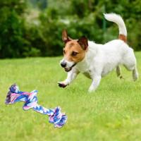 Mainan gigit anjing mainan kucing dog toy rope mainan kunyah tali