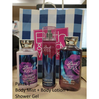 BBW BATH & BODY WORKS DARK KISS GIFT SET